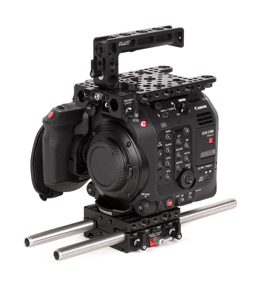 basic canon c500mkii camera bundle & accessory kit