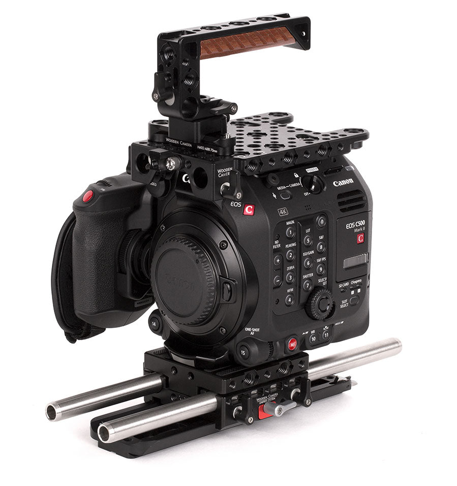 advanced canon c500mkii camera support kit & accessory bundle