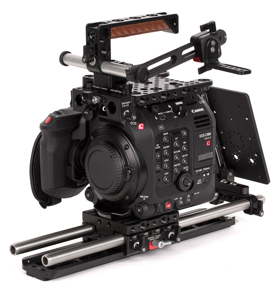professional canon c500mkii camera accessory bundle & support pacakge