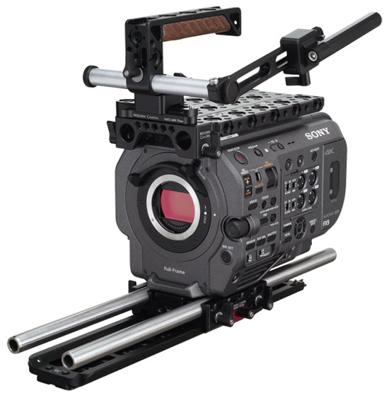 professional sony fx9 camera support kit & accessories from wooden camera