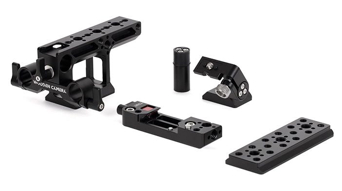 complete top mount kit for the red komodo