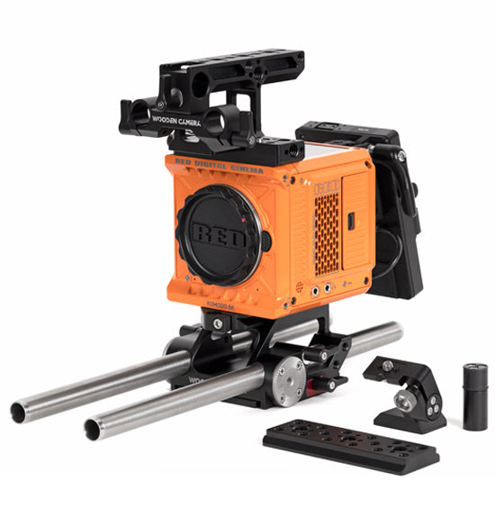 professional v-mount red komodo accessory kit from wooden camera