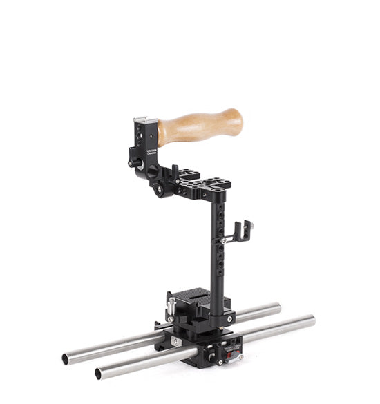 basic canon 5d mk iv & 5d mk iii dslr camera support package & accessories from wooden camera