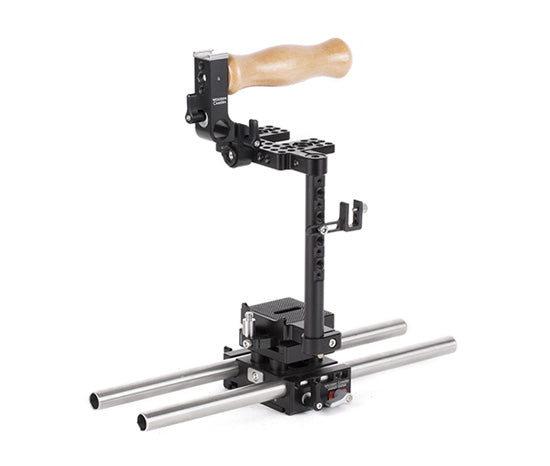 basic canon 7d mk ii & canon 6d mk ii dslr camera support package & accessories from wooden camera