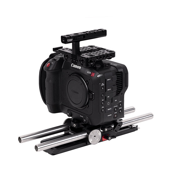 advanced canon c70 accessory kit from wooden camera