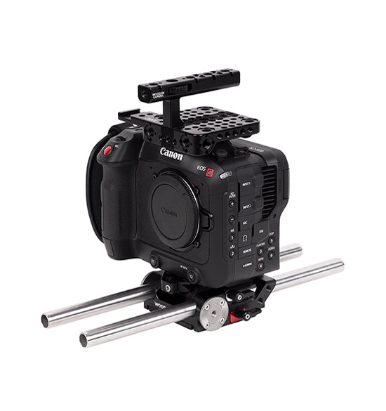 base canon c70 accessory kit from wooden camera