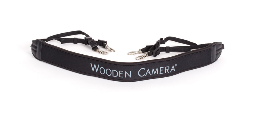wooden camera director's monitor cage lanyard