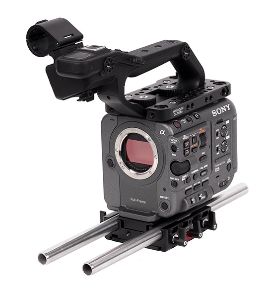 basic sony fx6 camera support package & accessories from wooden camera