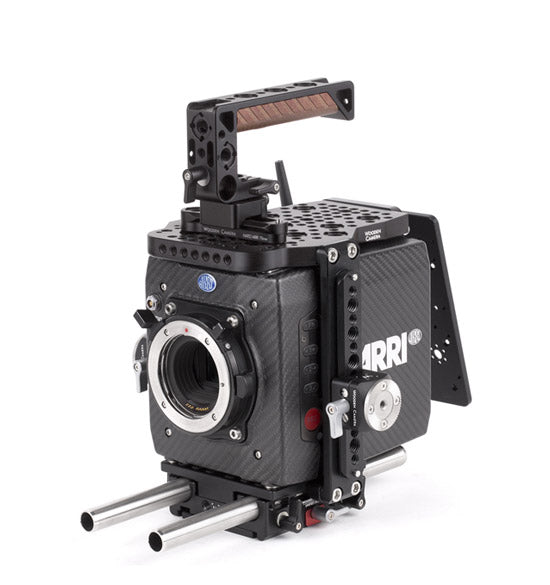 basic arri alexa mini camera support package & accessories from wooden camera