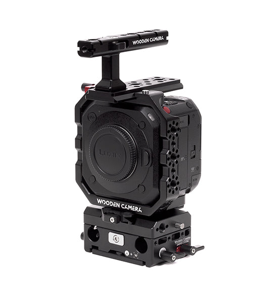basic panasonic bgh1 camera support package & accessories from wooden camera
