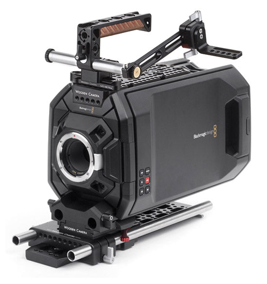 professional blackmagic ursa camera support kit & accessories from wooden camera