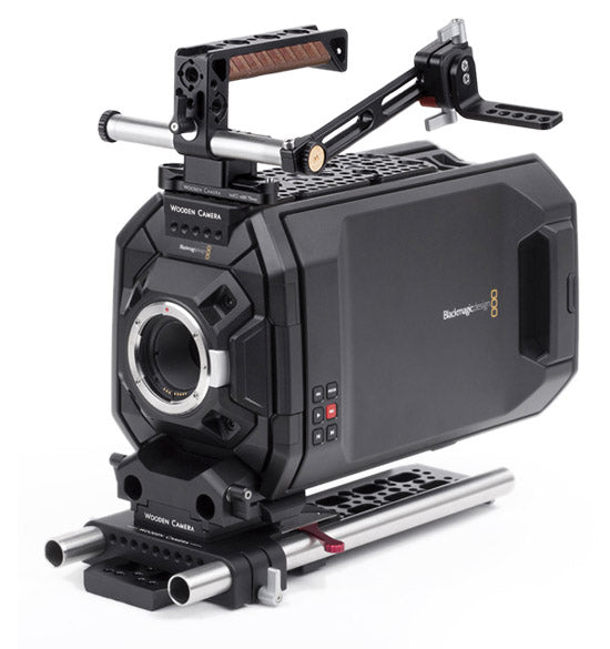 blackmagic ursa camera support kits & accessories