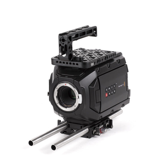 basic blackmagic ursa mini camera support package & accessories from wooden camera
