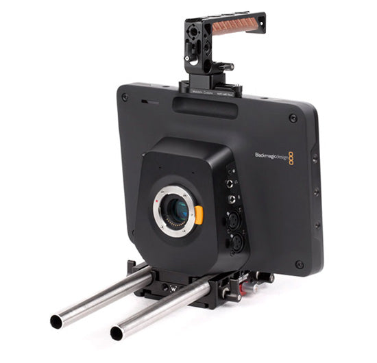 basic bmc studio camera support package & accessories from wooden camera