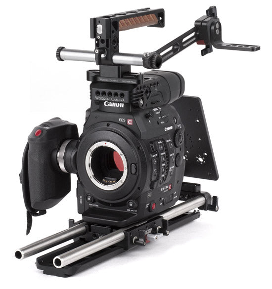 professional canon c300 mark ii camera accessory bundle & support pacakge