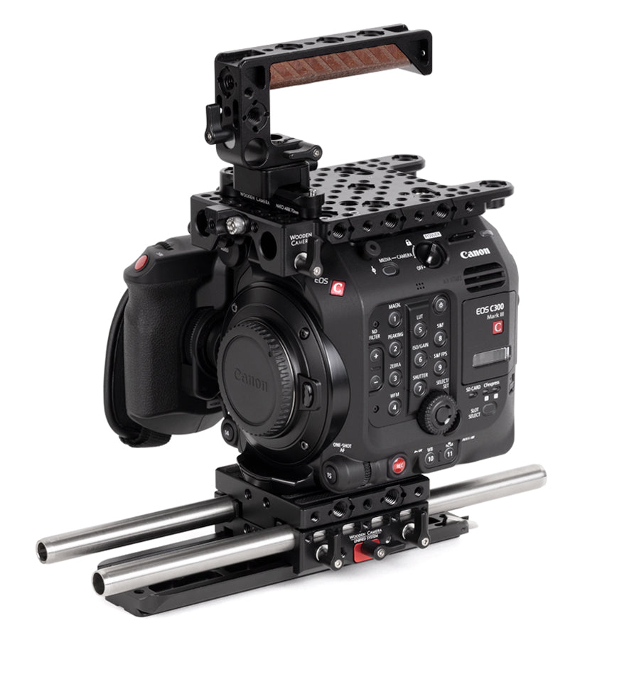 advanced canon c300mkiii camera support kit & accessory bundle