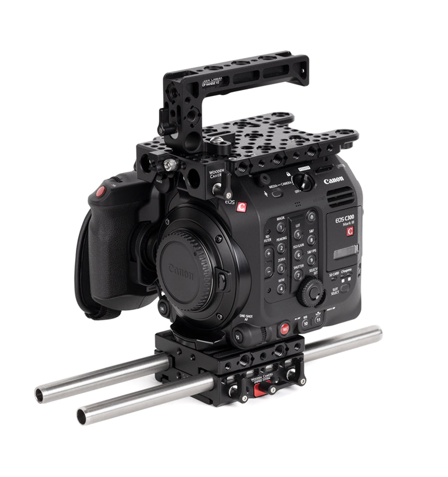 basic canon c300mkiii camera bundle & accessory kit