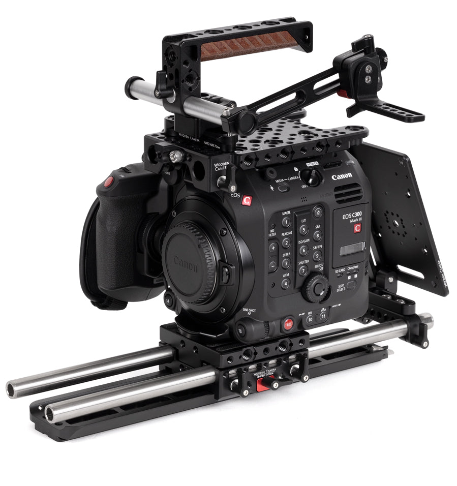 professional canon c300mkiii camera accessory bundle & support pacakge