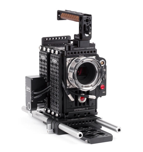 professional 15mm studio red epic and scarlet camera support kit & accessories from wooden camera