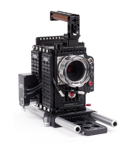 professional 19mm red epic and scarlet camera support kit & accessories from wooden camera