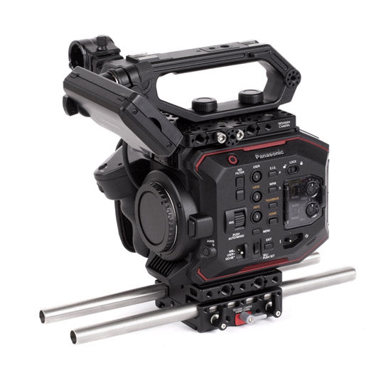 basic panasonic eva1 camera support package & accessories from wooden camera