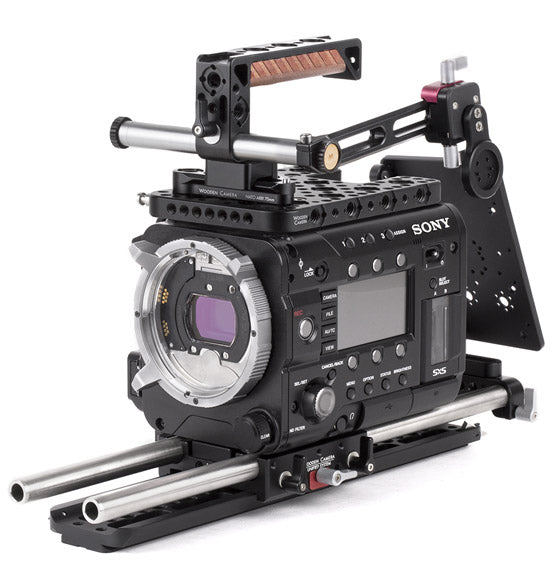 professional sony f55/f5 camera support kit & accessories from wooden camera