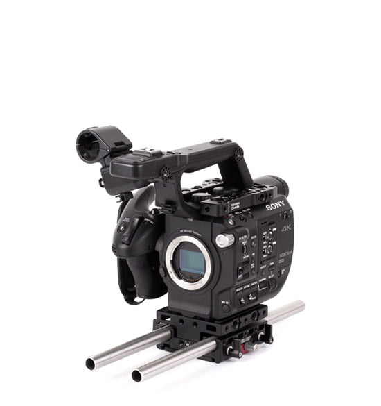 basic sony fs5 camera support package & accessories from wooden camera