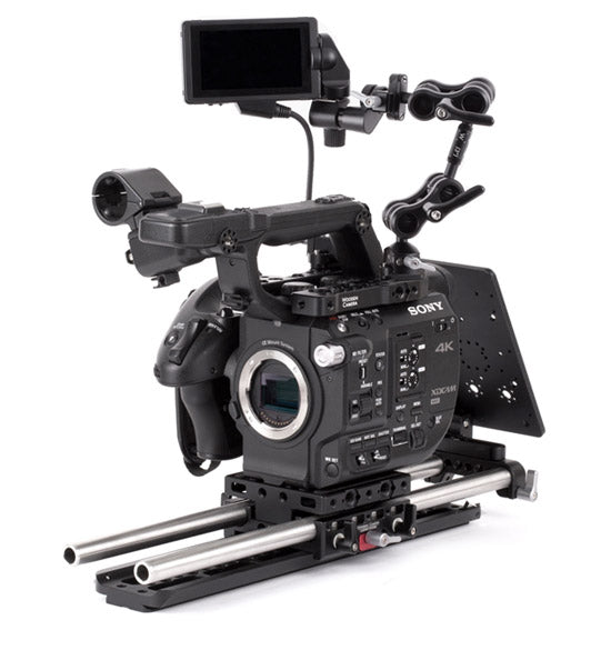 professional sony fs5 camera support kit & accessories from wooden camera