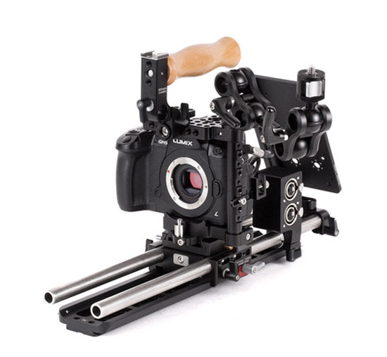 professional panasonic gh5, panasonic gh4, and panasonic gh3, dslr camera support kit & accessories from wooden camera
