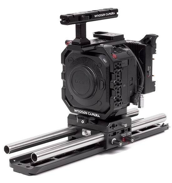 professional panasonic bgh1 camera support kit & accessories from wooden camera