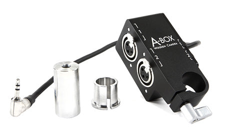 a-box xlr audio adapter for red dsmc2 cameras