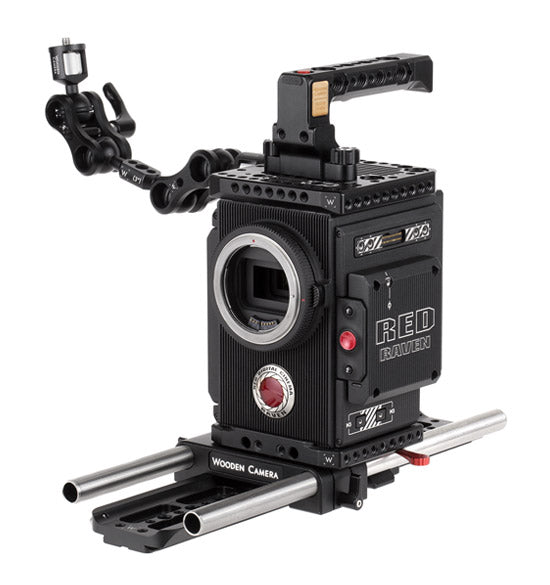 professional 15mm studio red weapon and red dsmc2 camera support kit & accessories from wooden camera