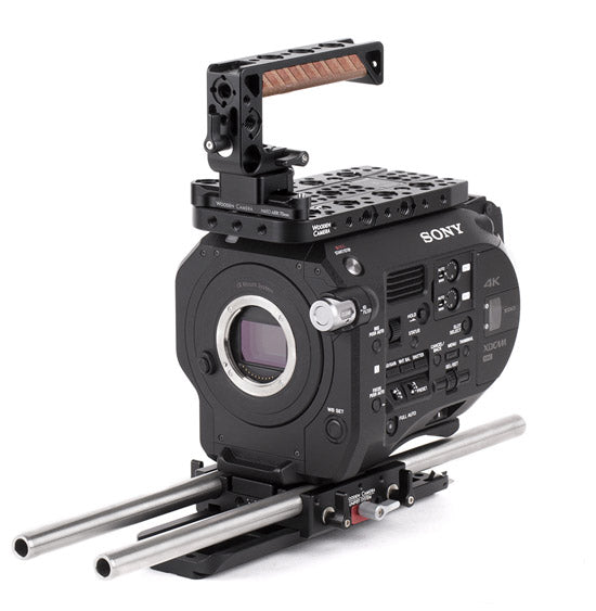 advanced sony fs7 camera accessory bundle & camera gear from wooden camera