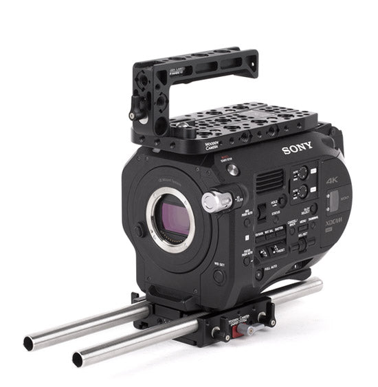 basic sony fs7 camera support package & accessories from wooden camera