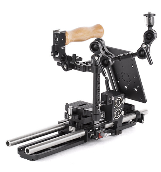 professional canon t7i & canon t6i dslr camera support kit & accessories from wooden camera