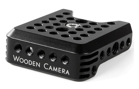 top mounting cheese plate for the canon c300 camera
