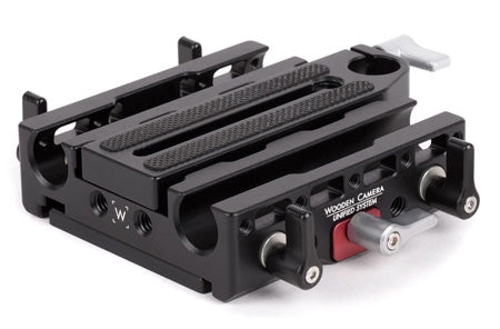 unified base plate for the canon c300 mark ii & canon c100 mark ii camera