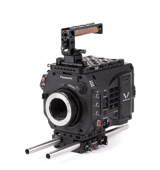 basic panasonic varicam lt camera support package & accessories from wooden camera