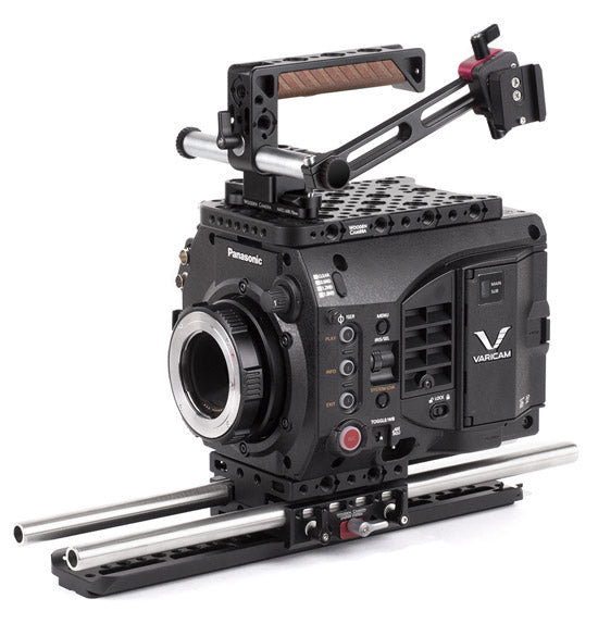 professional panasonic varicam lt camera support kit & accessories from wooden camera