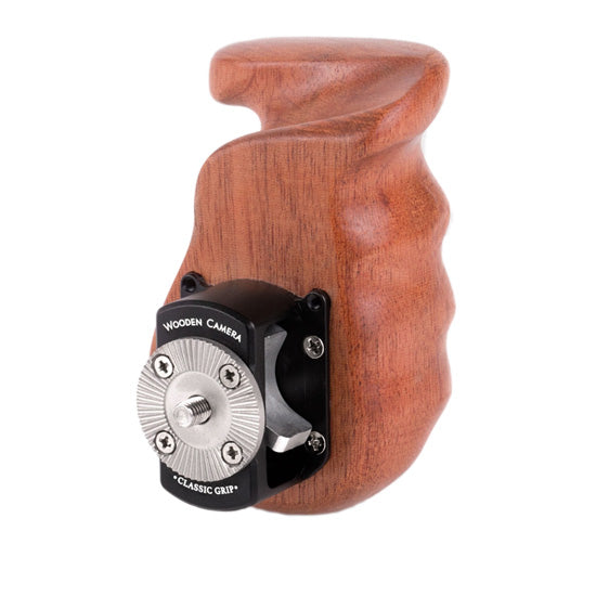 wooden camera handgrip, wooden ergonomic hand grip