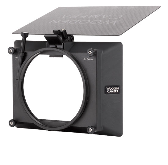 wooden camera zip box pro clamp on, lightweight clamp on matte box