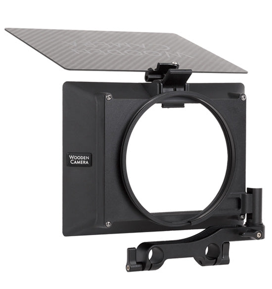 wooden camera zip box pro swing away, lightweight swing away matte box