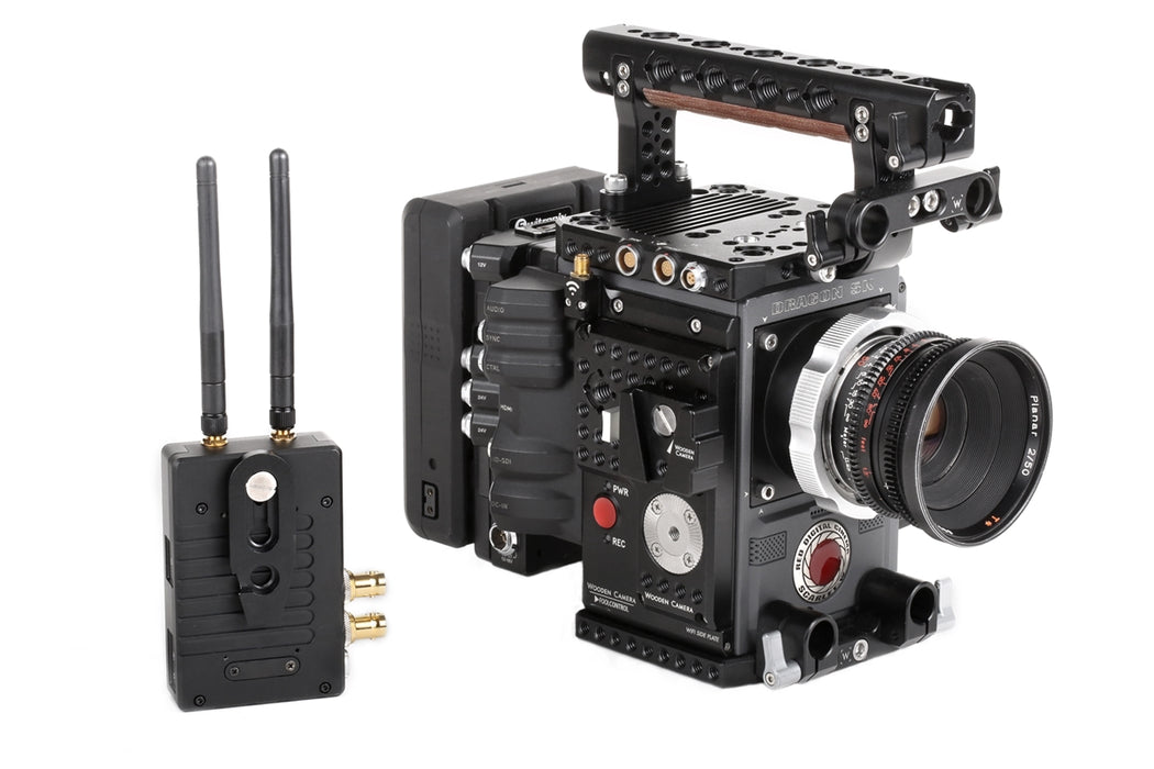 Offset V-Lock Accessory Wedge & Base Station Kit (Screw Slot and ARRI Accessory Mount 3/8-16)