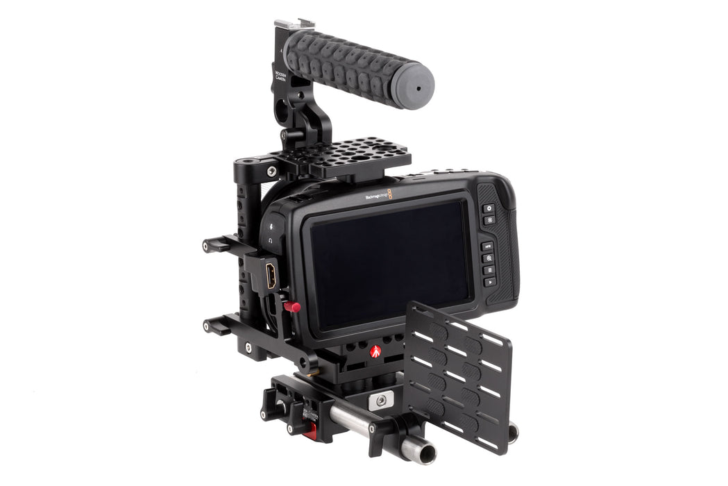 Unified BMPCC4K Camera Cage SSD Mount