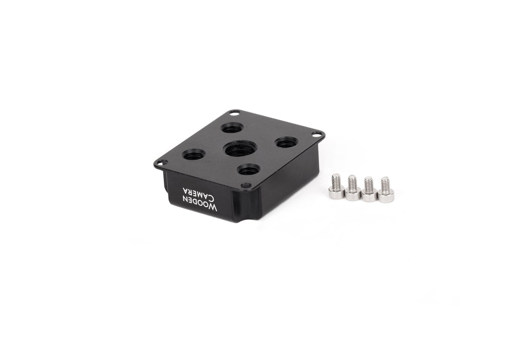 RED DSMC2 EVF Mounting Plate with 1/4-20 and 3/8-16 ARRI Accessory Mount