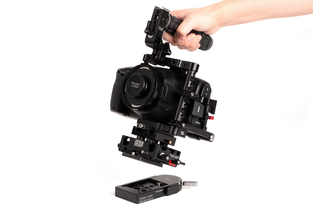 Micro Touch and Go System (Sachtler FSB 10T, 8T, FSB 6T, Touch and Go Plate S)
