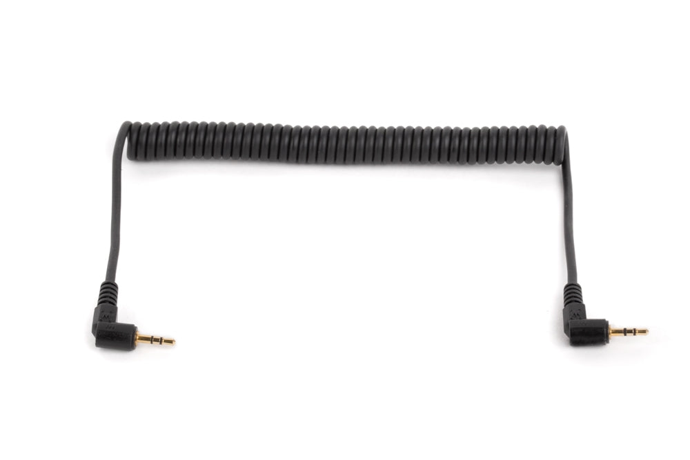 Wooden Camera WC Coiled 2.5mm TRS to 2.5mm TRS