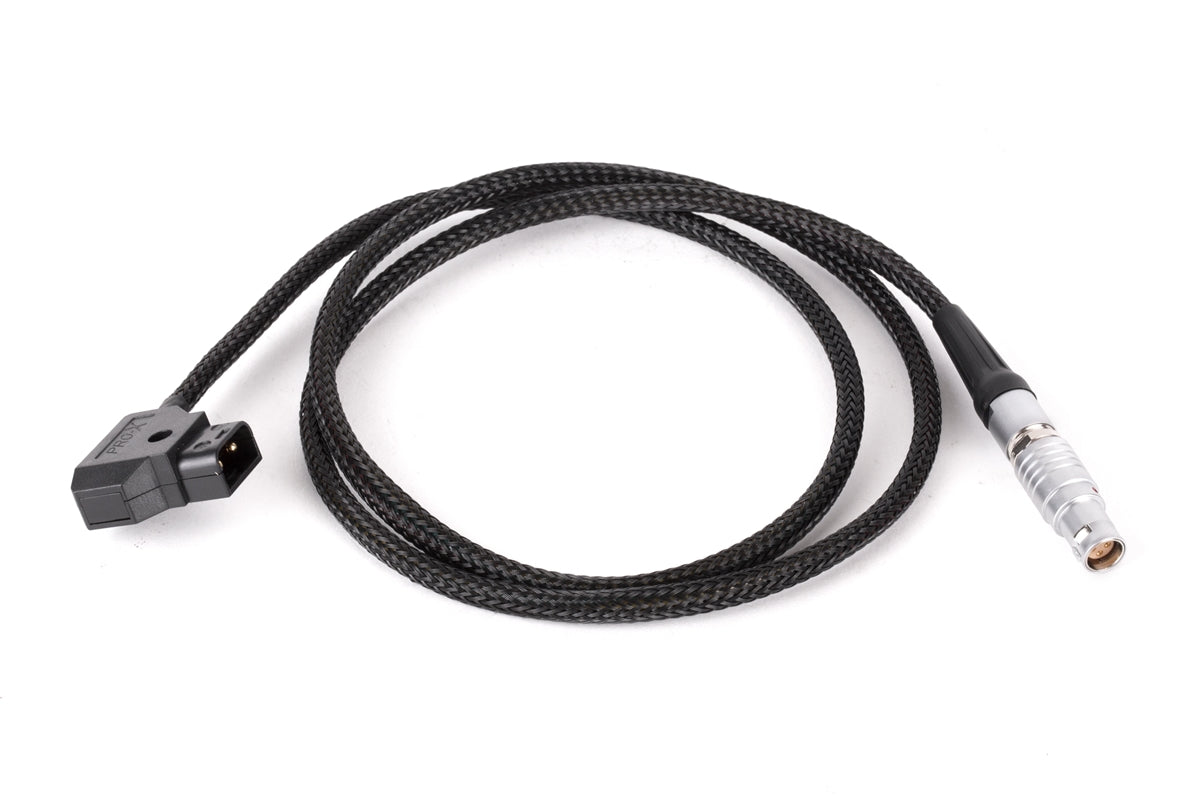 D-Tap to Canon C200, C200B, C300mkII (Braided Flex Cable)