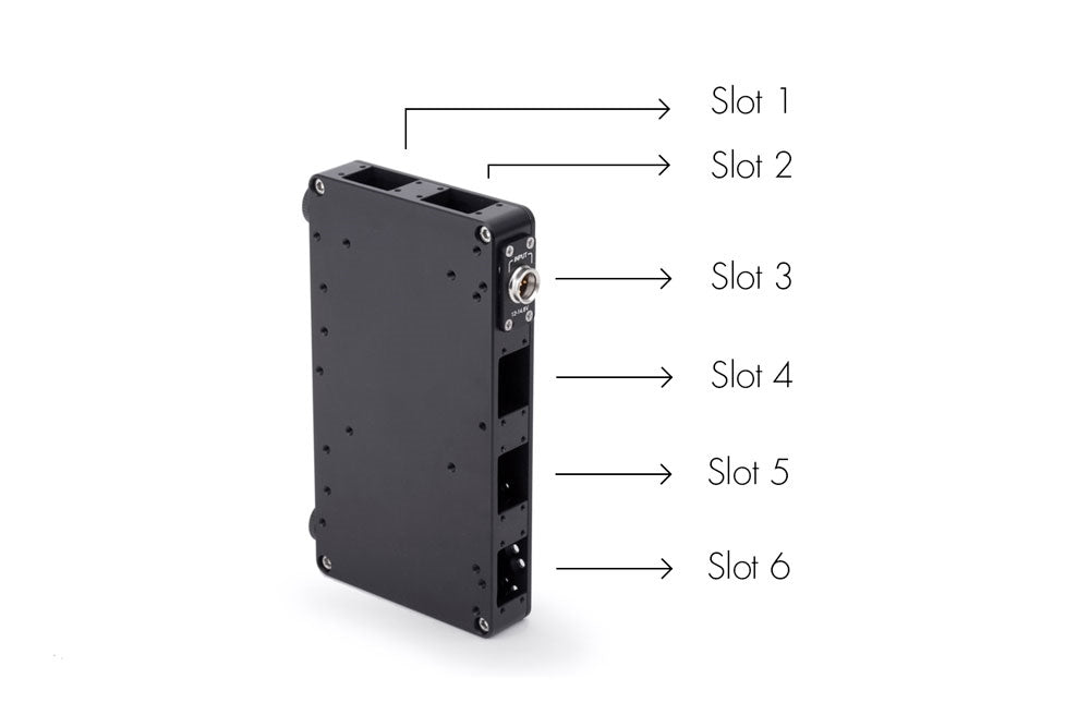 D-Box (V-mount Battery Side to Gold Mount Camera Side, Base Unit)