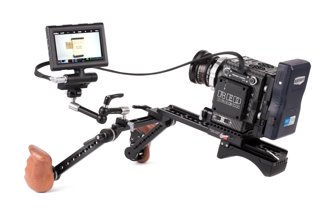 "RED Male Pogo to Male LEMO LCD/EVF Cable (24"", RED DSMC2)"